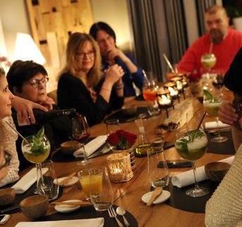 Mets dit Vins - Table d'hôtes gastronomique